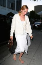 Uma Thurman Out At Dinner In Beverly Hills