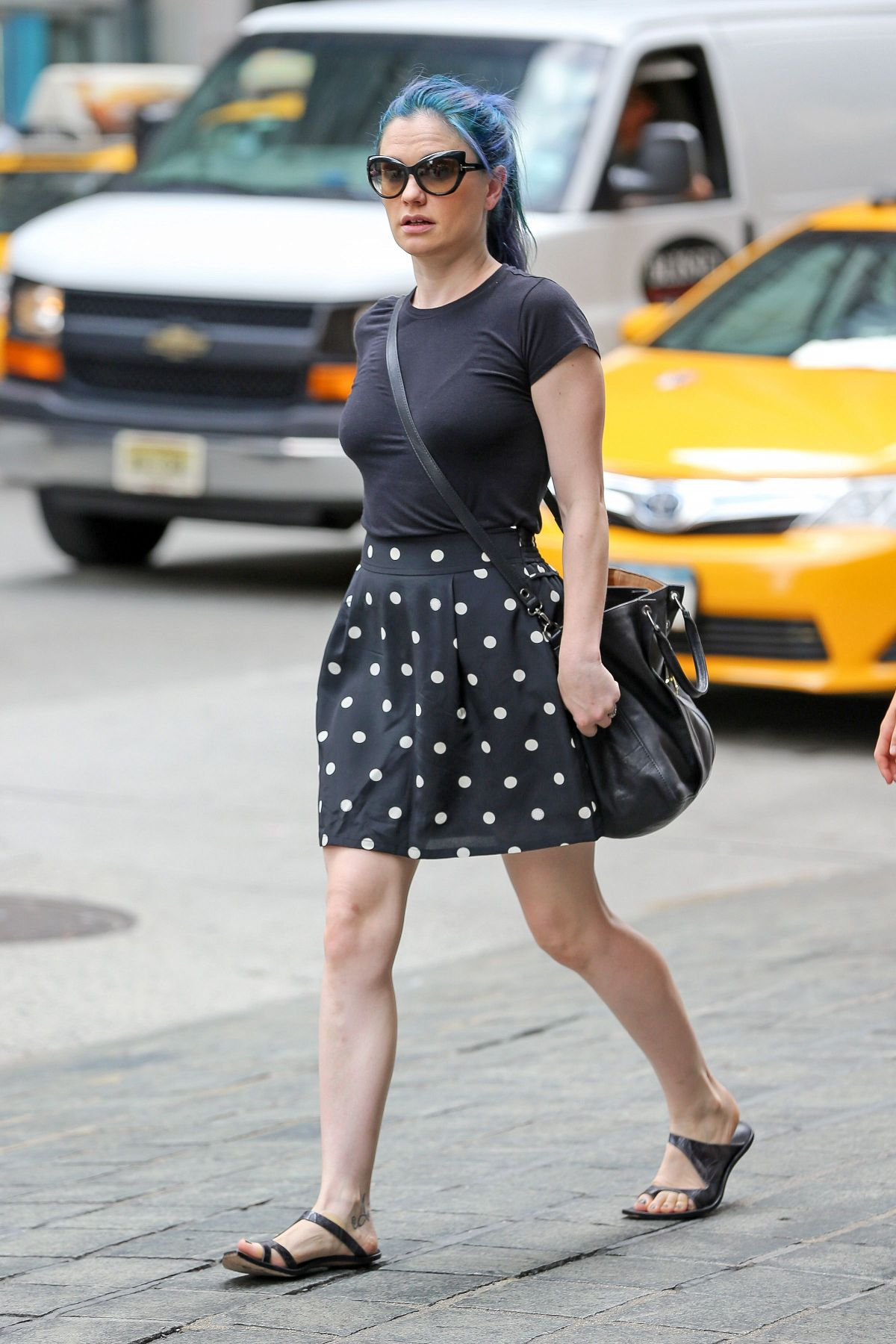 Anna Paquin Out And About In New York Celebzz