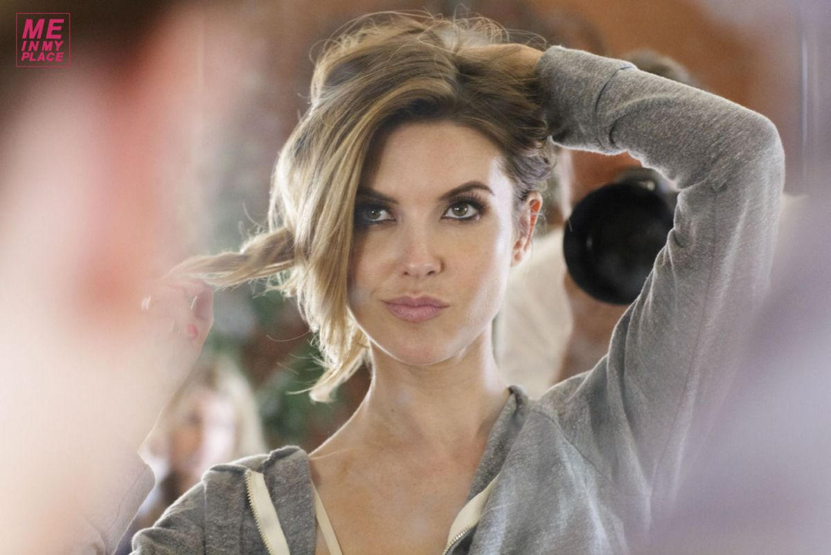 Audrina Patridge At 2014 Me In My Place Photoshoot