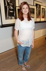 Bonnie Wright At Calvin Klein Jeans & Mytheresa.com Party