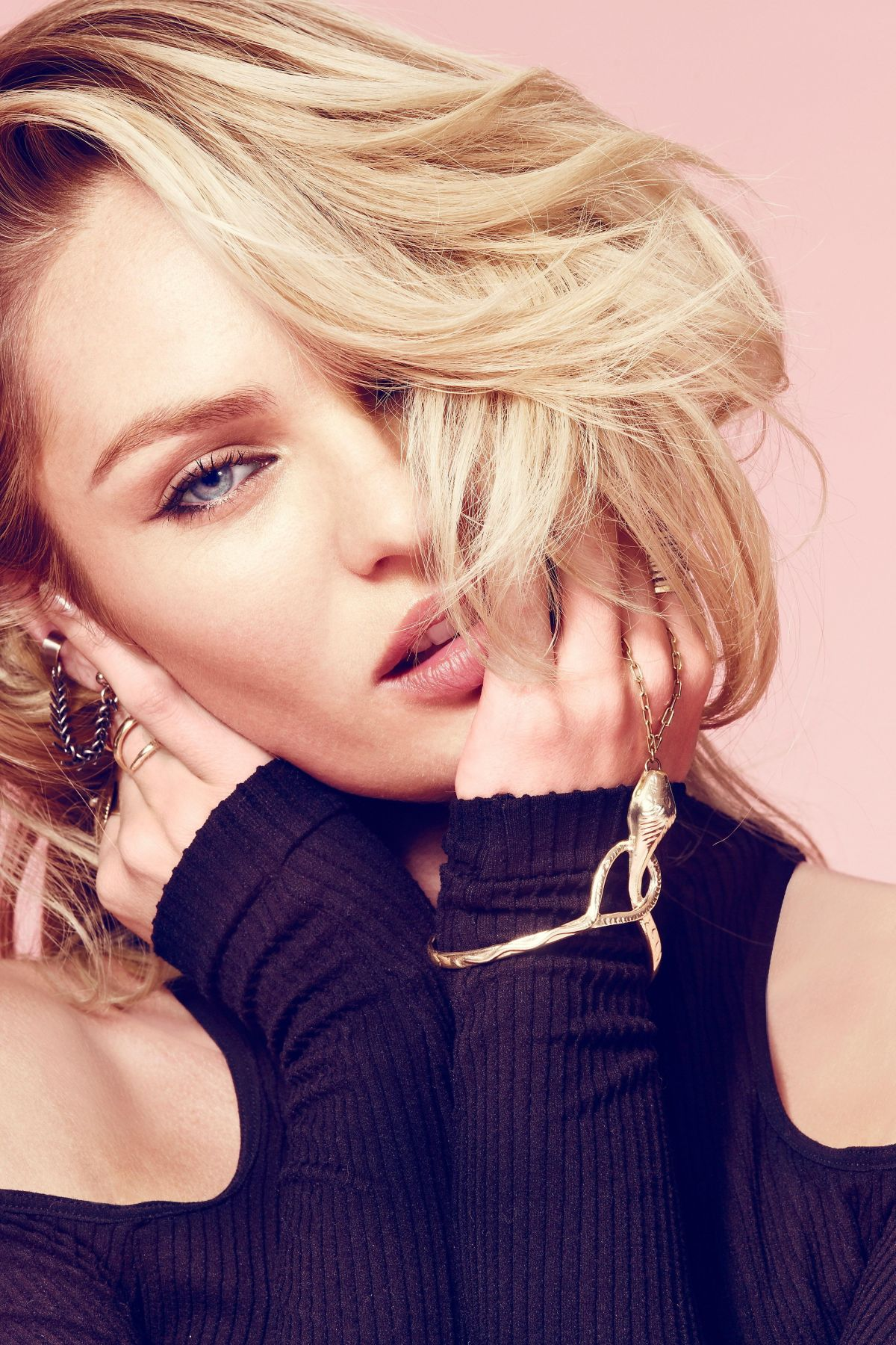 Candice Swanepoel At Free People July 2014 Catalog