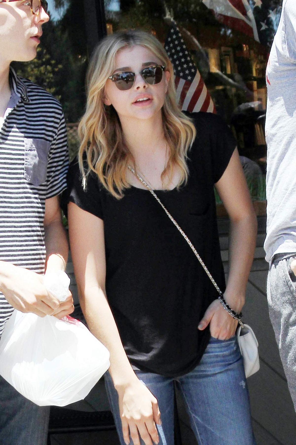 Chloe Moretz Out And About In LA