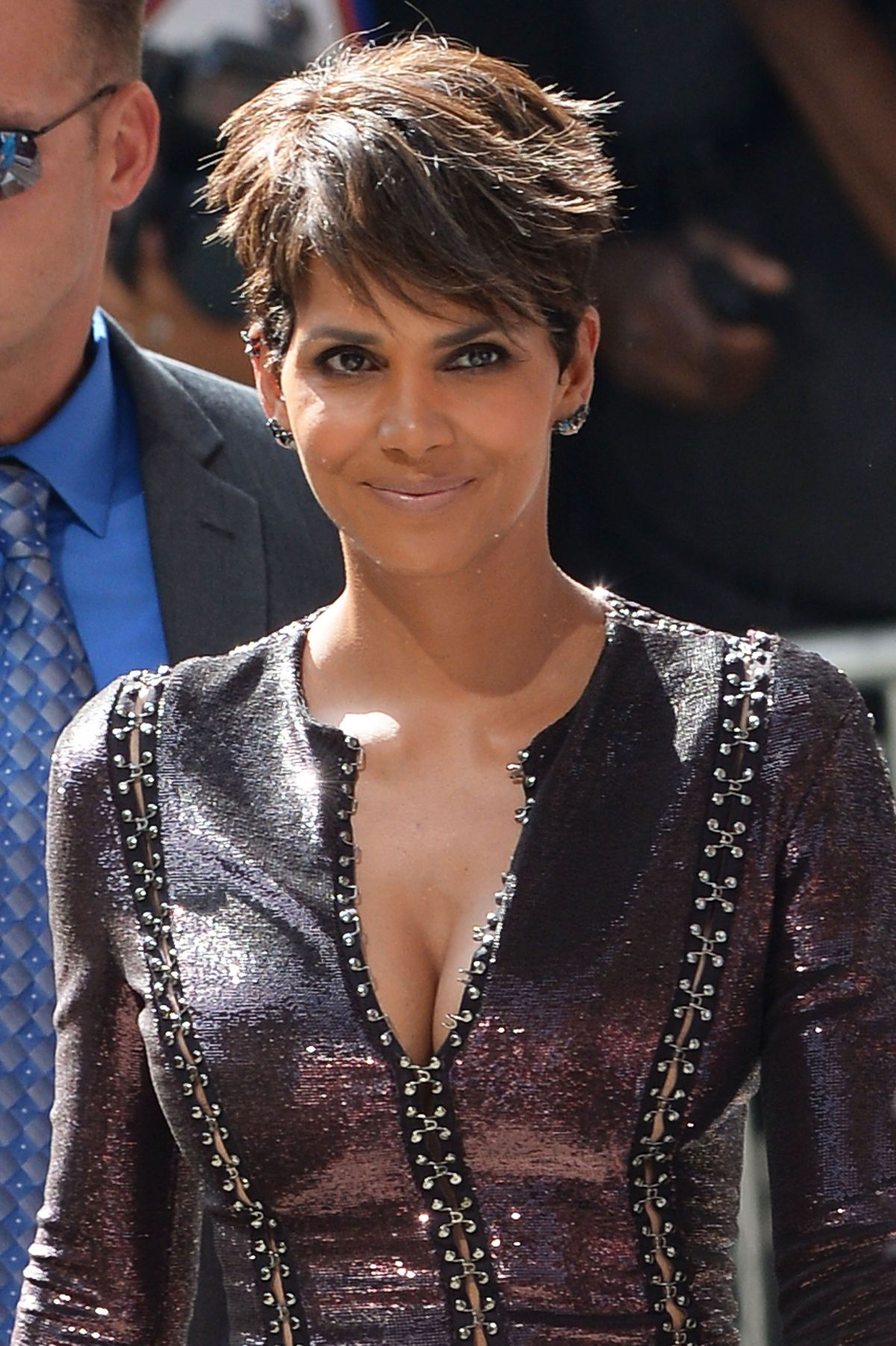 Halle Berry At The Late Show With David Letterman Celebzz