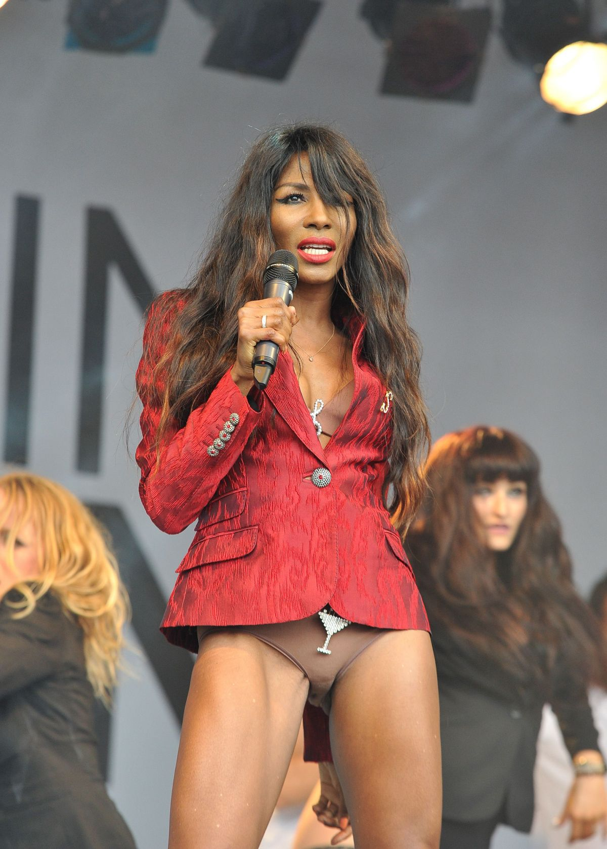 Sinitta At London Gay Pride On Trafalgar Square