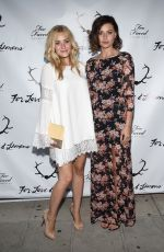 Amanda & AJ Michalka At The For Love And Lemons Annual SKIVVIES Party