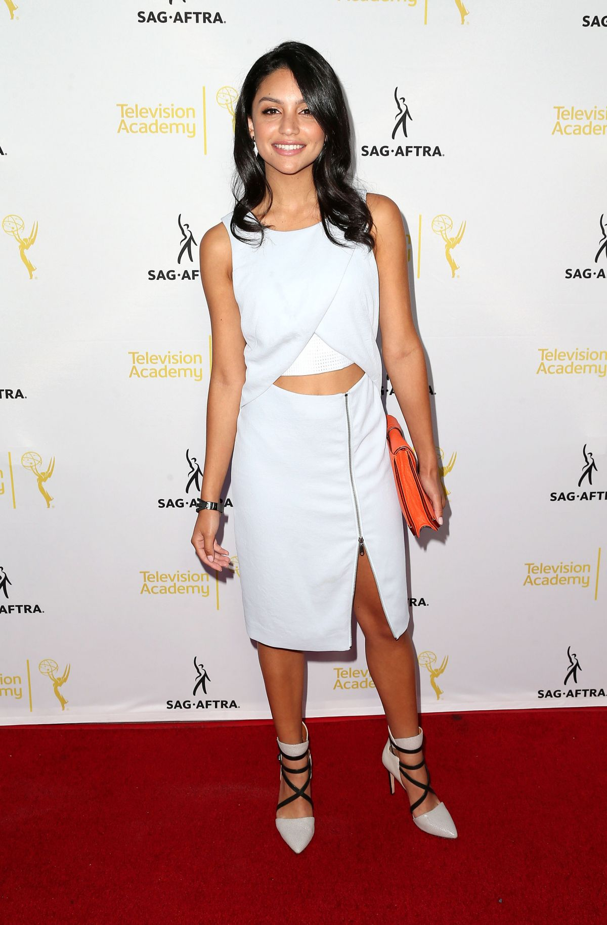 Bianca A. Santos At Emmy Awards Dynamic and Diverse Nominee Reception