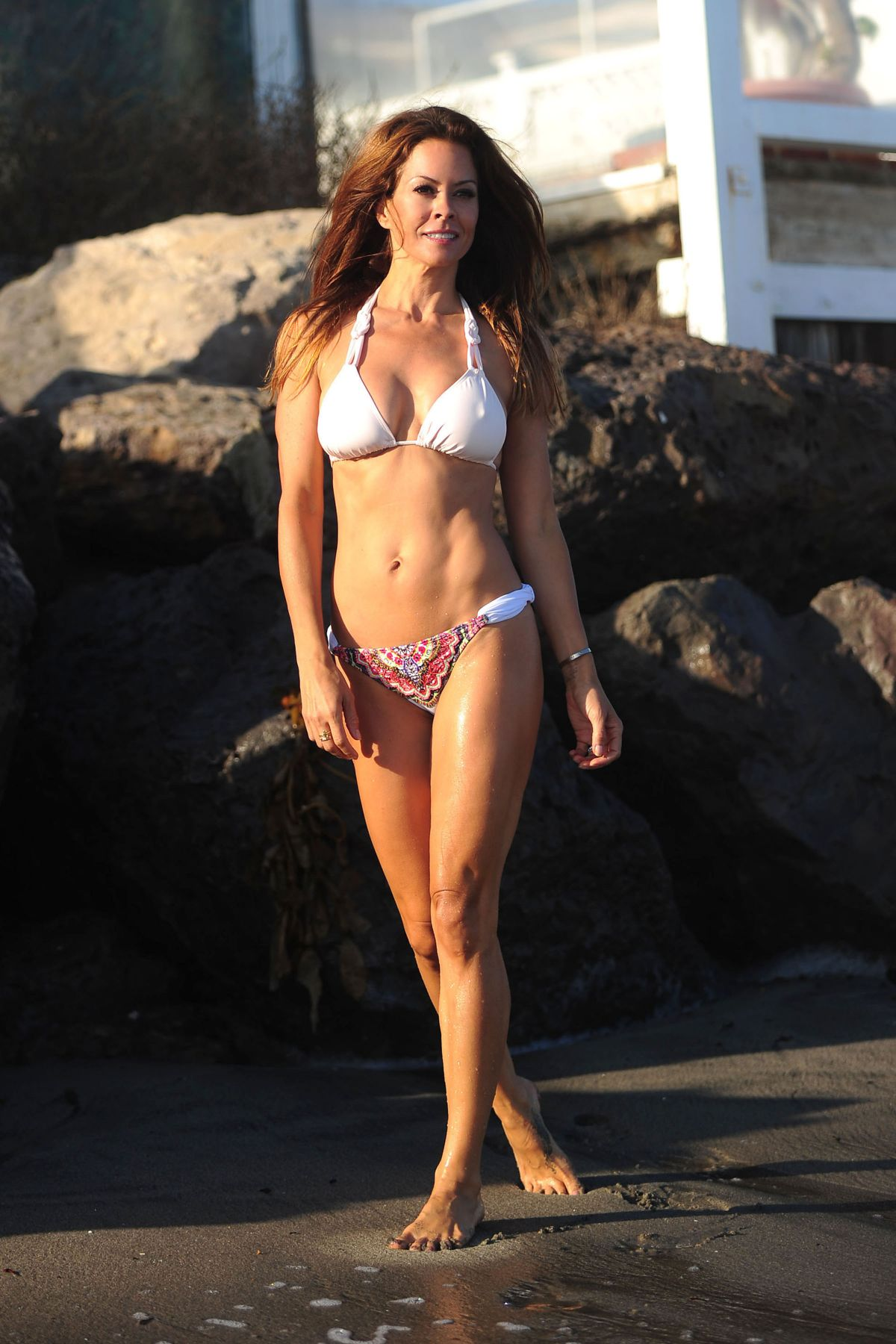 Tell me, brooke burke charvet bikini not