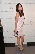 Daisy Lowe At The Watches Of Switzerland Flagship Launch