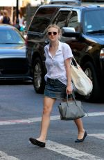 Dakota Fanning Out In NYC