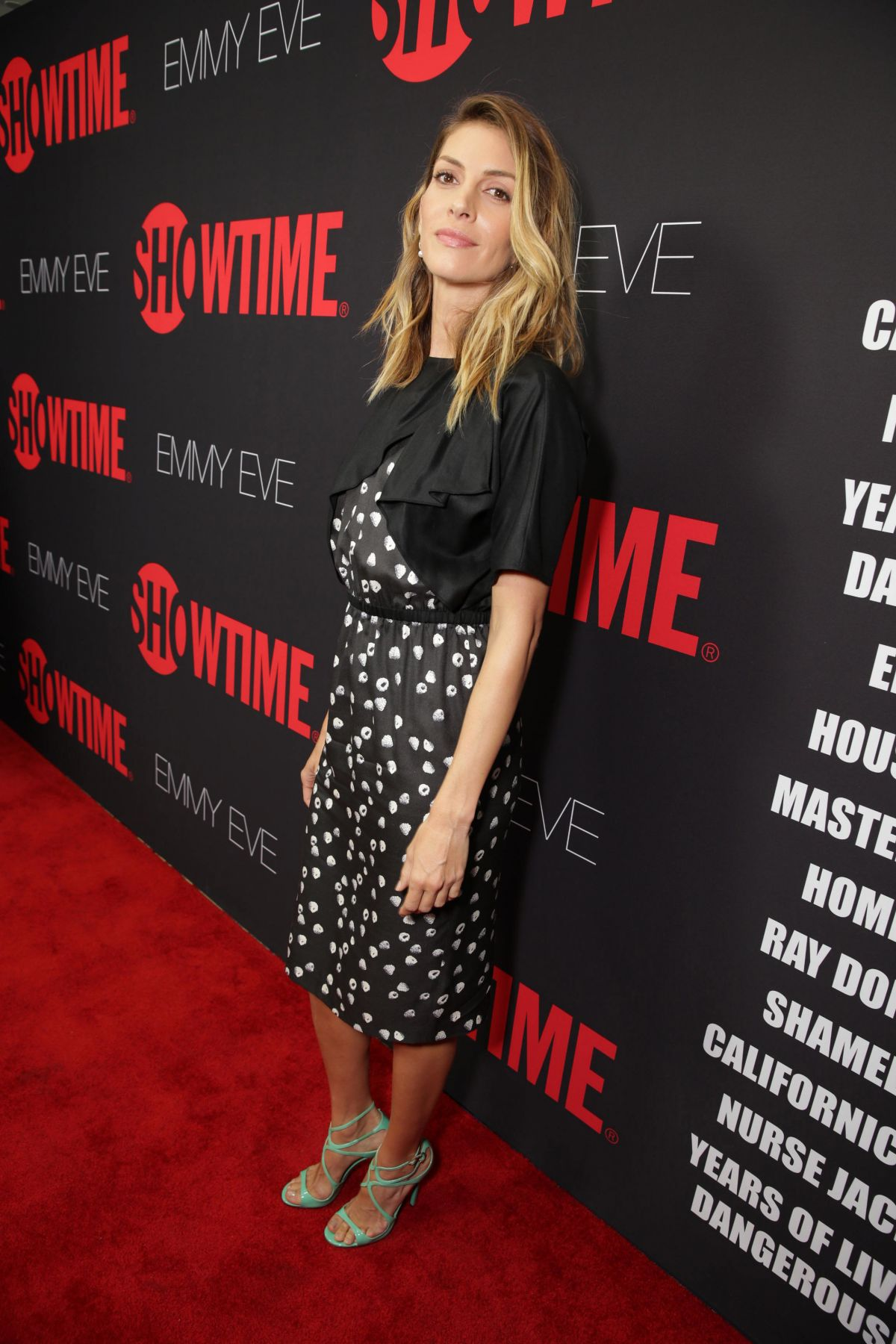 Dawn Olivieri At Showtime's Emmy Eve Soiree - Celebzz ... Emmy Eve