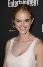 Emily Wickersham At Entertainment Weekly's Pre-Emmy Party
