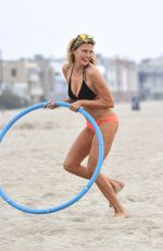 Estella Warren Wearing A Bikini At Venice Beach
