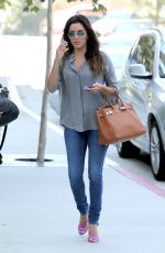 Eva Longoria Out In Hollywood