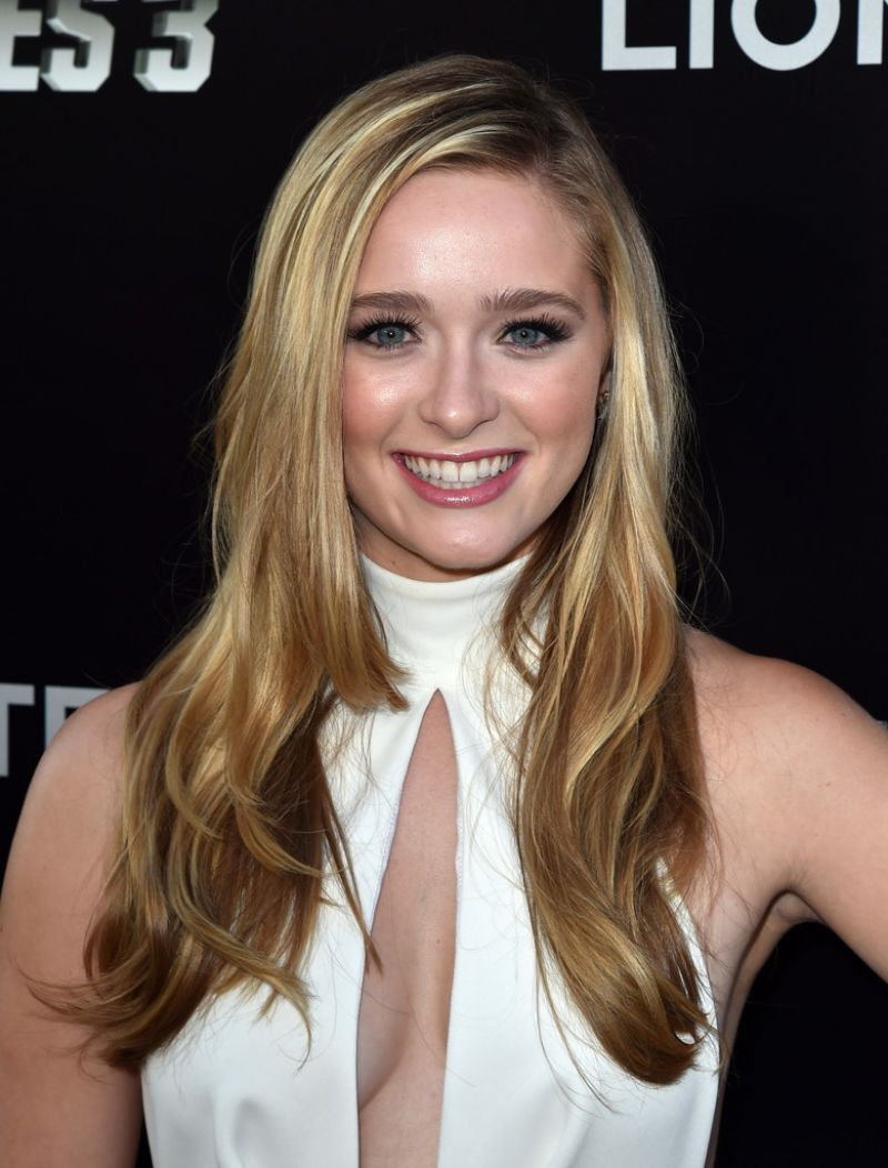 """Greer Grammer At """"The Expendables 3"""" Premiere In Hollywood"""