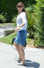 Jennifer Garner At Private Party In Brentwood