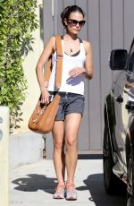 Jordana Brewster Leaving The Gym In West Hollywood
