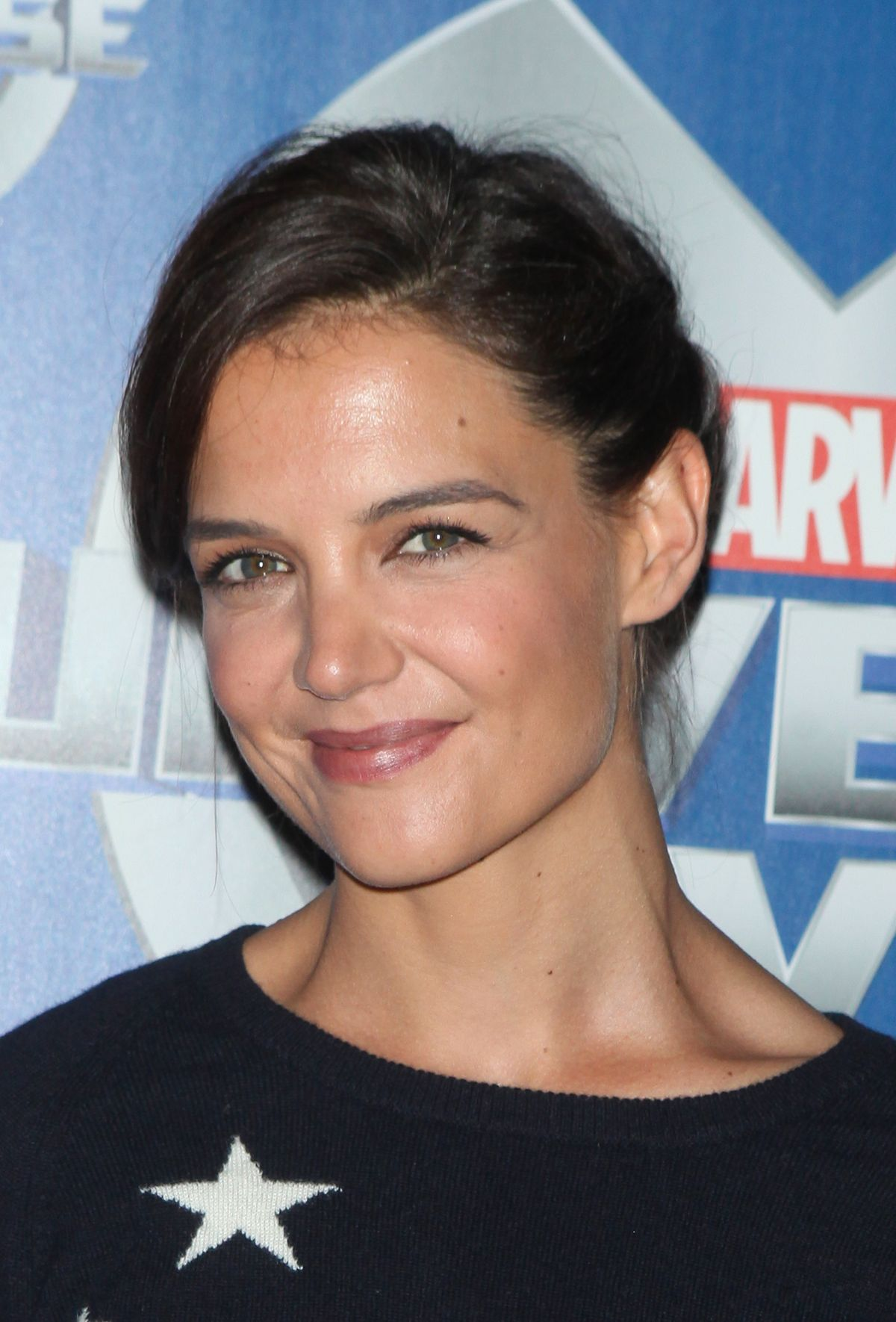 Katie Holmes At Marvel Universe Live! In NYC