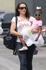 Kristin Davis Out In Brentwood