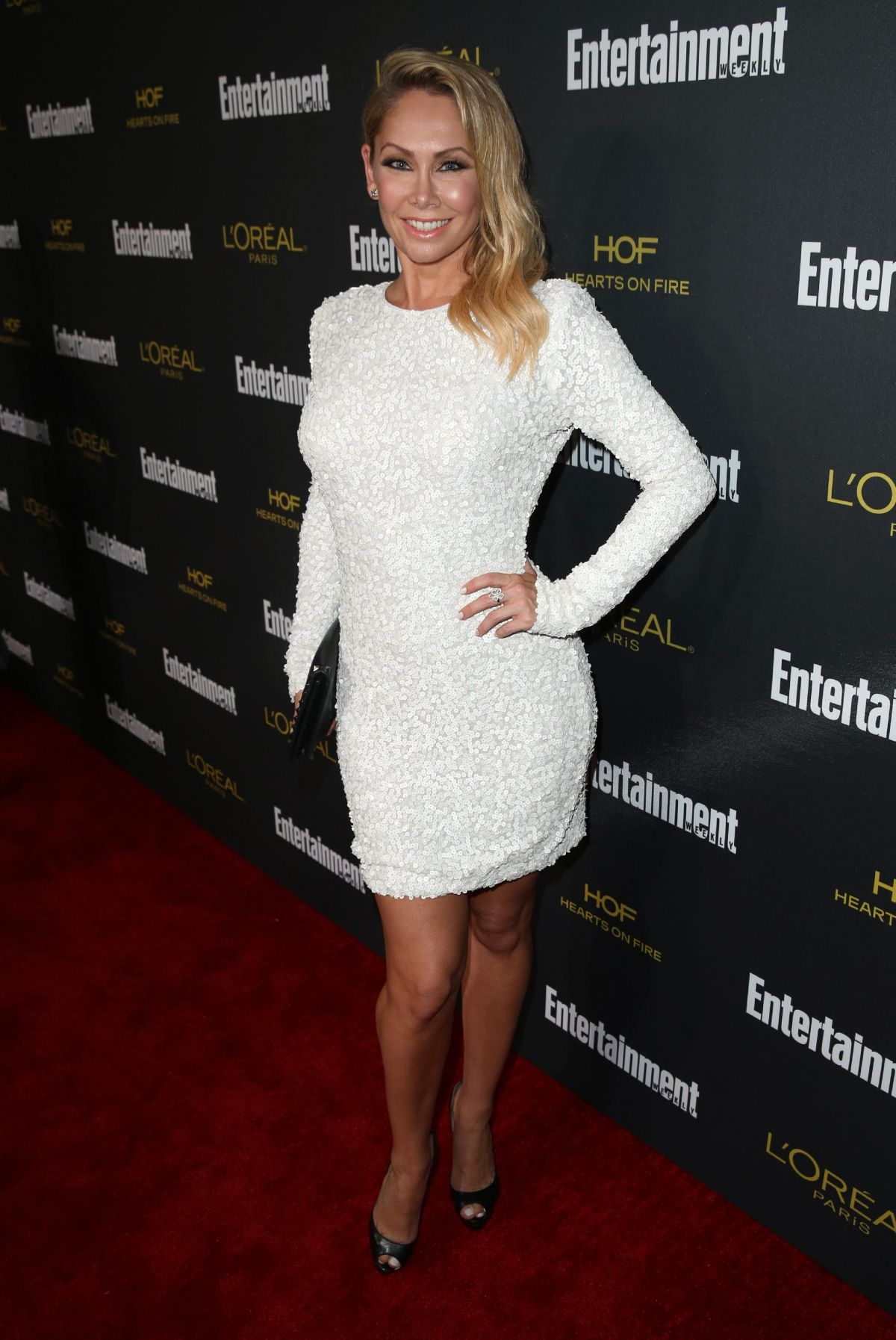 Kym Johnson At Entertainment Weekly's Pre-Emmy Party