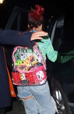 Lily Allen At Chiltern Firehouse In London