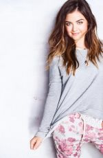 Lucy Hale At Hollister Clothing Photoshoot