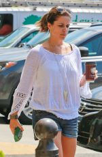 Neve Campbell Out In Los Feliz