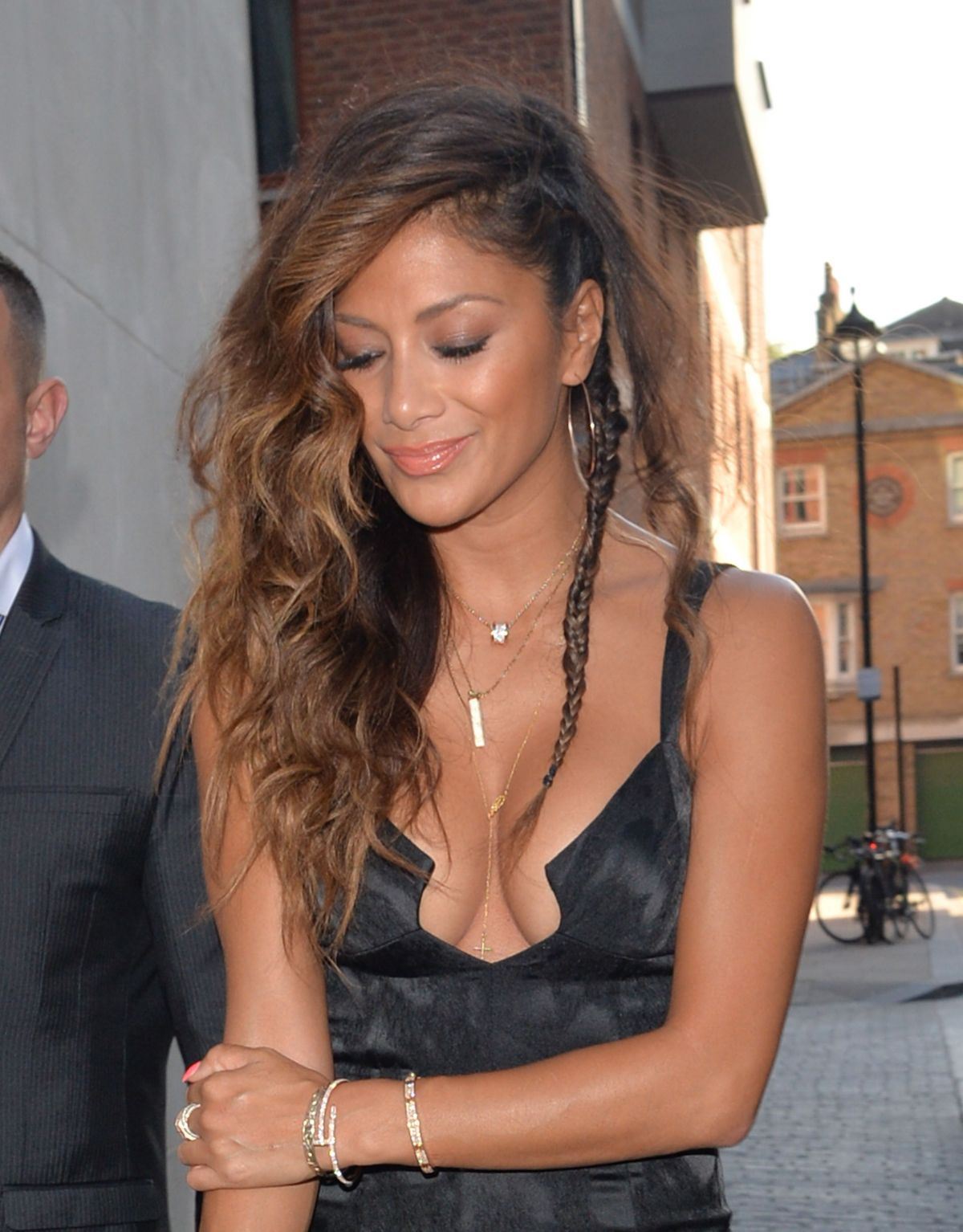 Nicole Scherzinger At Zuma Restaurant In London Celebzz