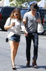 Nikki Reed At The Farmers Market In Studio City
