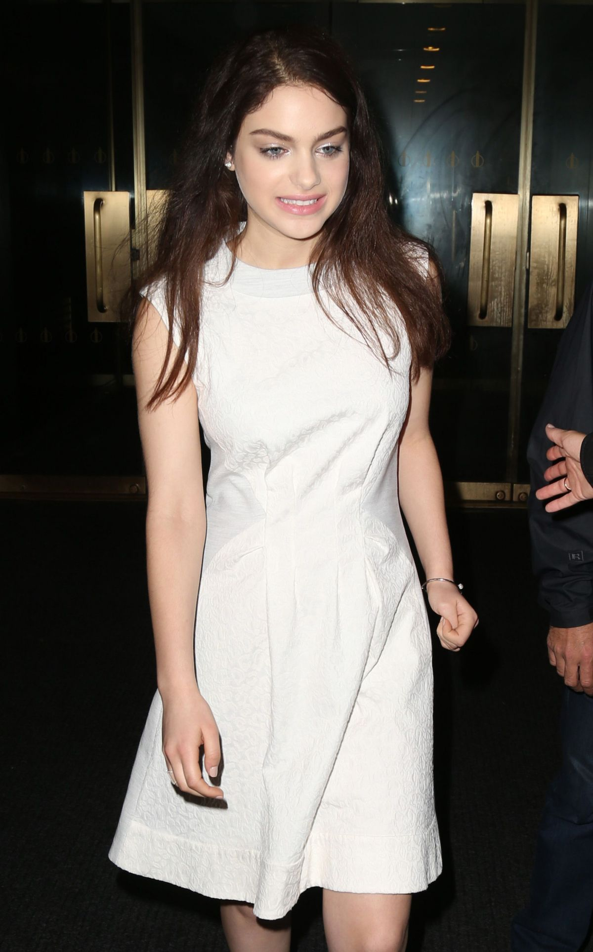 Odeya Rush Leaving The Today Show In NYC