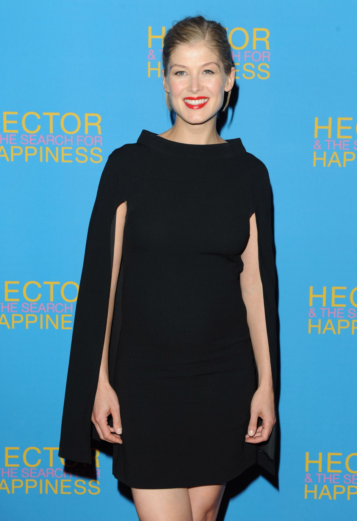 Rosamund Pike At Hector And The Search For Hapiness Premiere In London