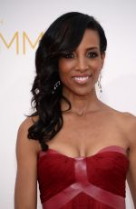 Shaun Robinson At Primetime Emmy Awards