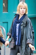 Sienna Miller On The Set Of