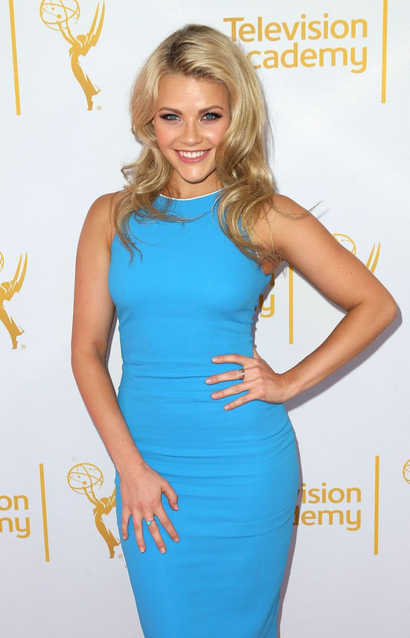 Witney Carson At 66th Emmy Awards Outstanding Choreography Nominees