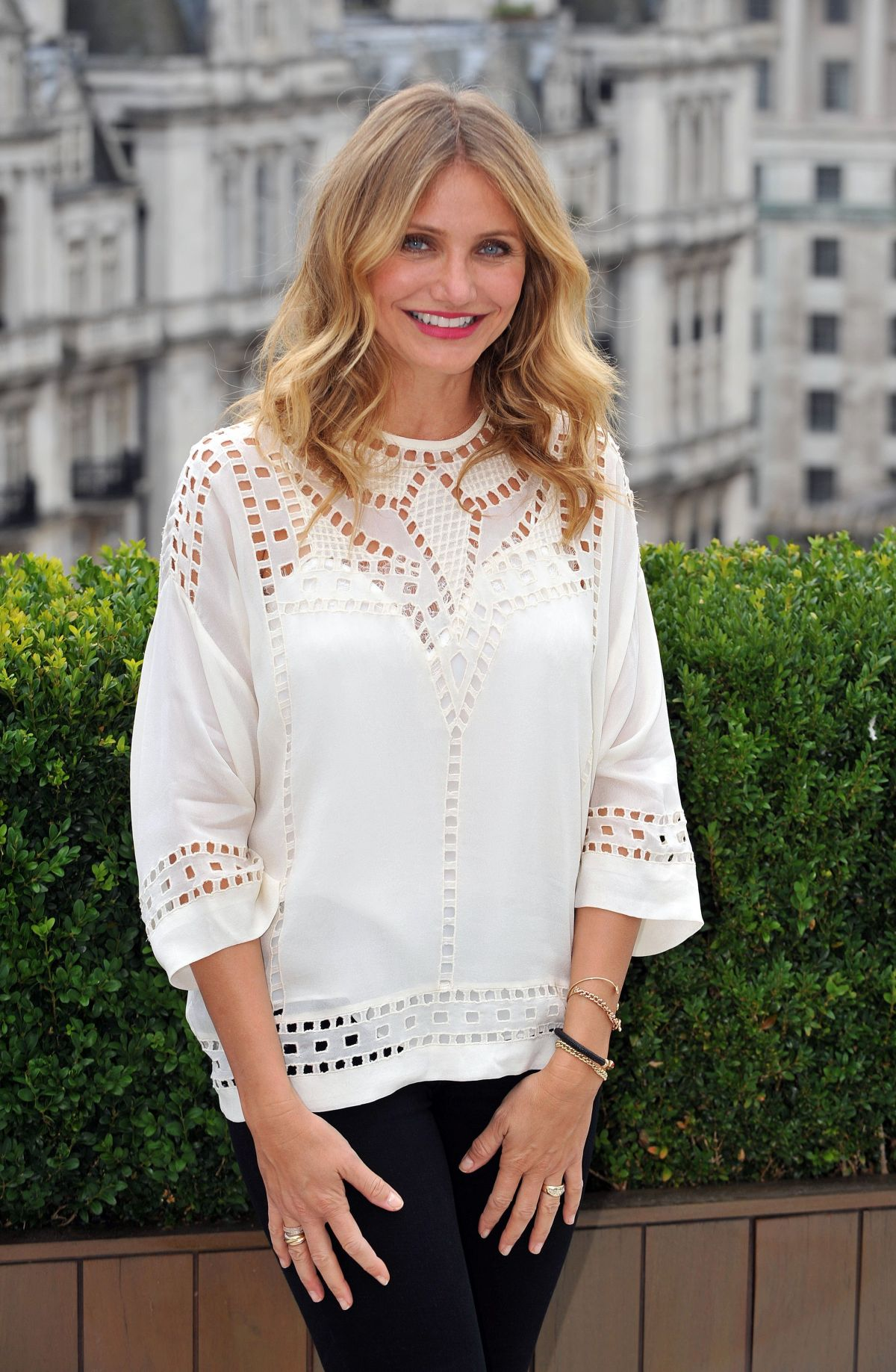 Cameron Diaz At Sex Tape Photocall At The Corinthia