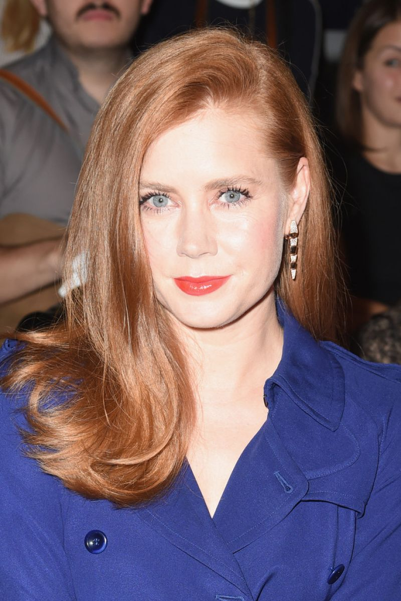 Amy Adams At Max Mara Show In Milan