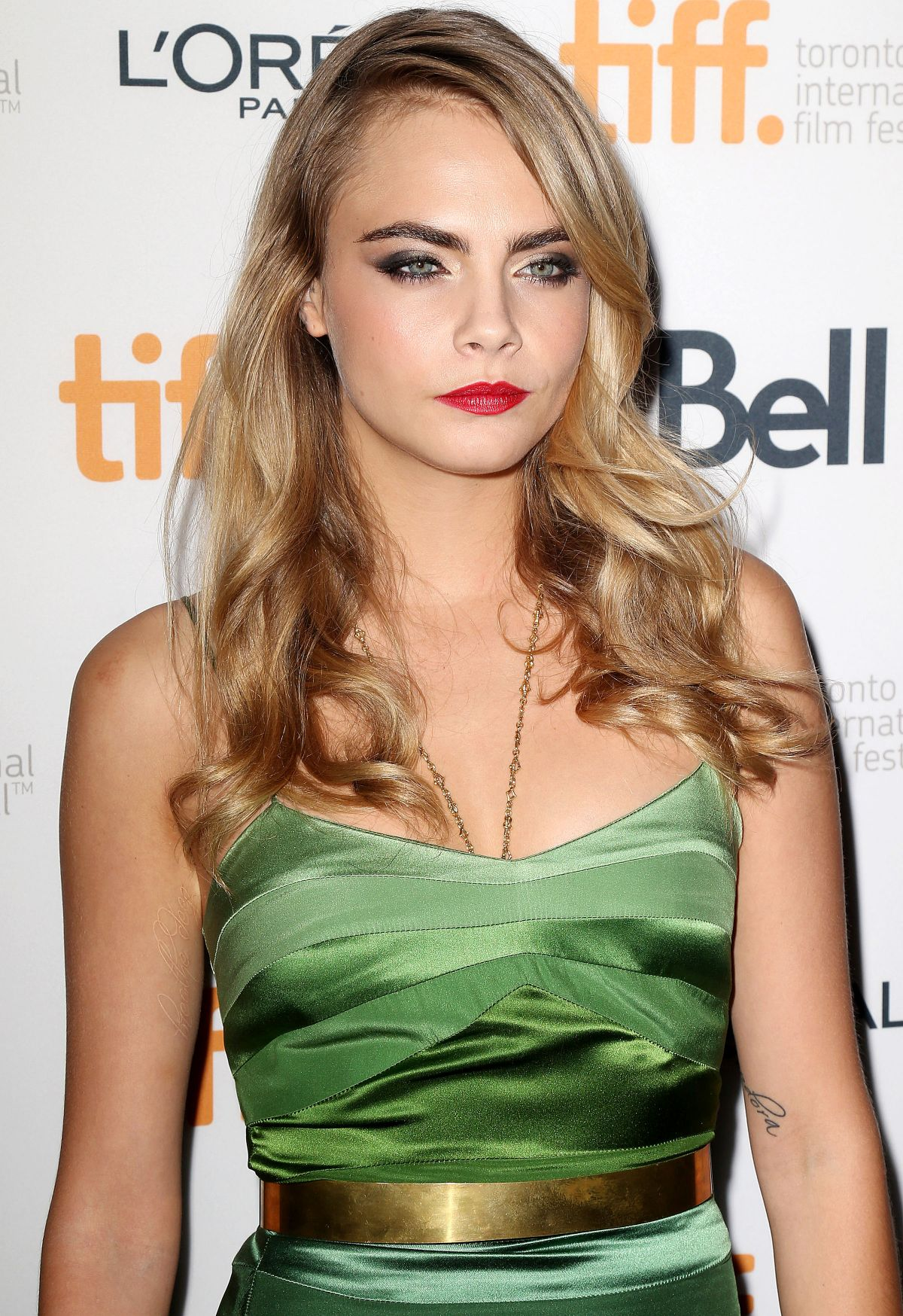 Cara Delevingne At The Face Of An Angel Premiere At The