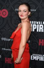 Emily Meade At Boardwalk Empire Season 5 Premiere In NY