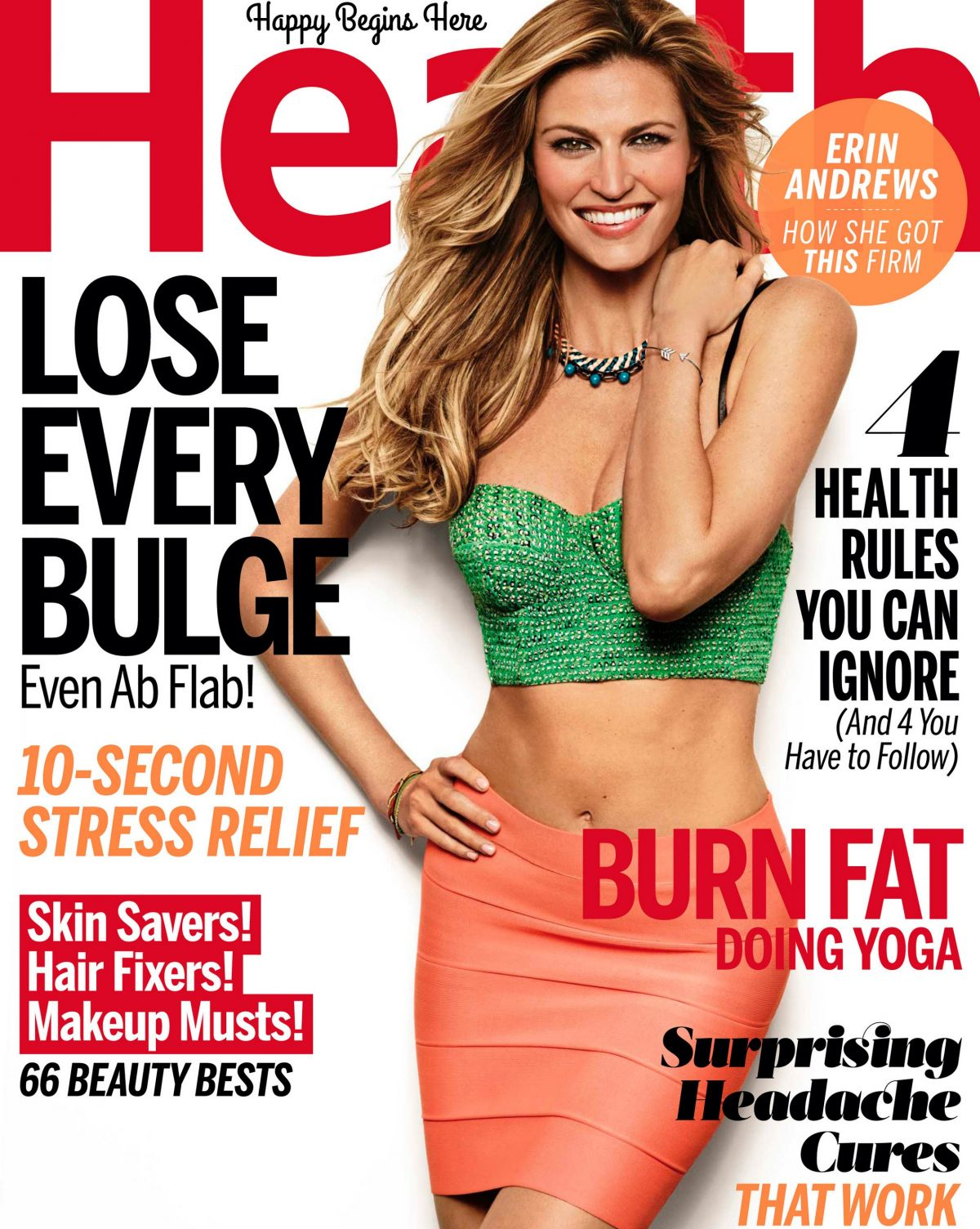 Erin Andrews In Health September 2014
