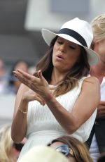 Eva Longoria Attends Day 14 Of The 2014 US Open