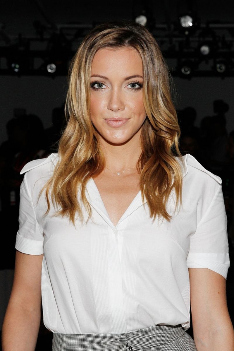 Katie Cassidy At Houghton Spring 2015 Fashion Show