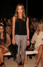 Katie Cassidy At Nicole Miller Spring 2015 Fashion Show