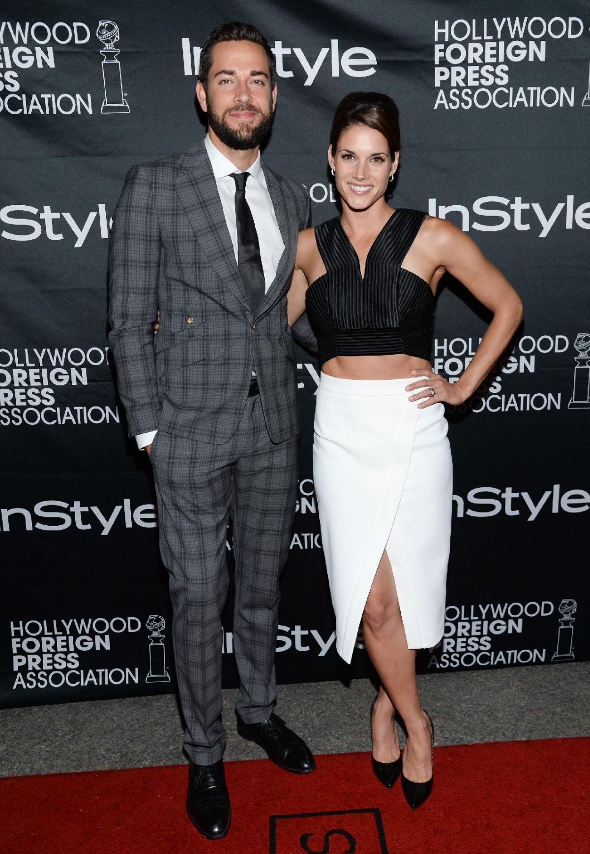 Missy Peregrym At Hollywood Foreign Press Association And InStyle Party At TIFF