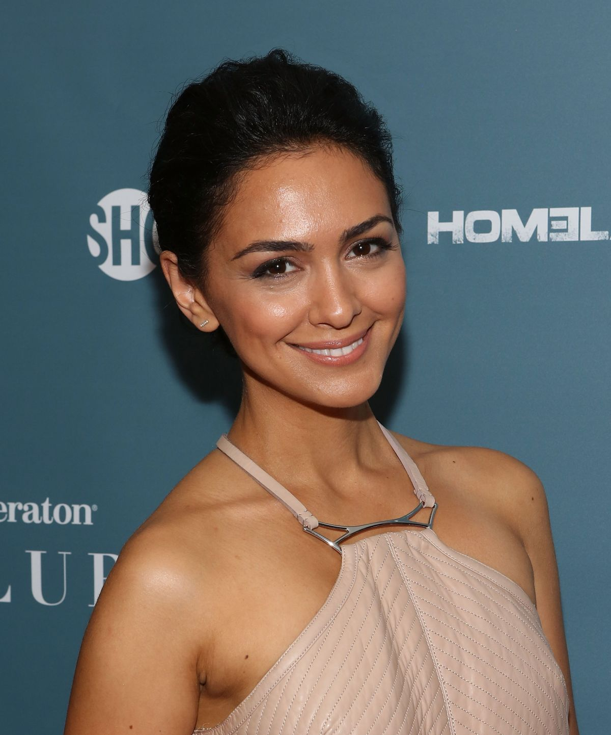 Nazanin Boniadi At Showtime Presents    Spies Among Us   Nazanin Boniadi