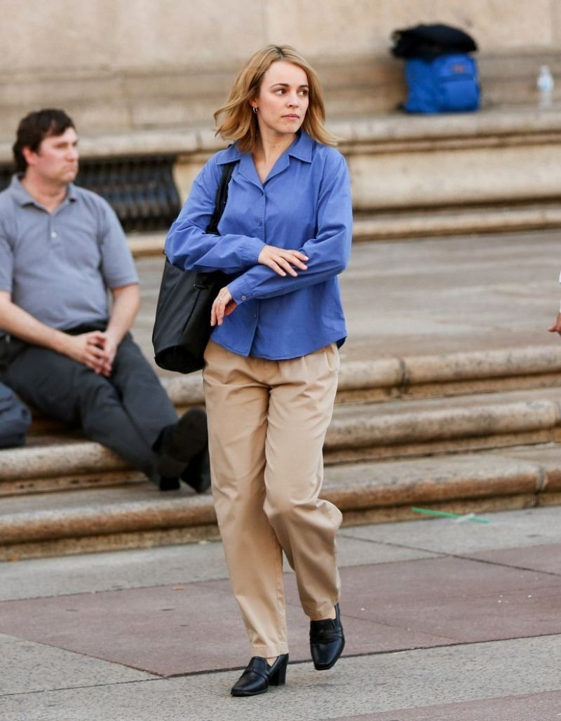 "Rachel McAdams Filming ""Spotlight"" In Boston - Celebzz"