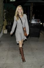 Amanda Michalka Leaving The Troubadour In West Hollywood