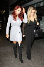 Amy Childs Arriving At The Sugarhut Nightclub In Essex