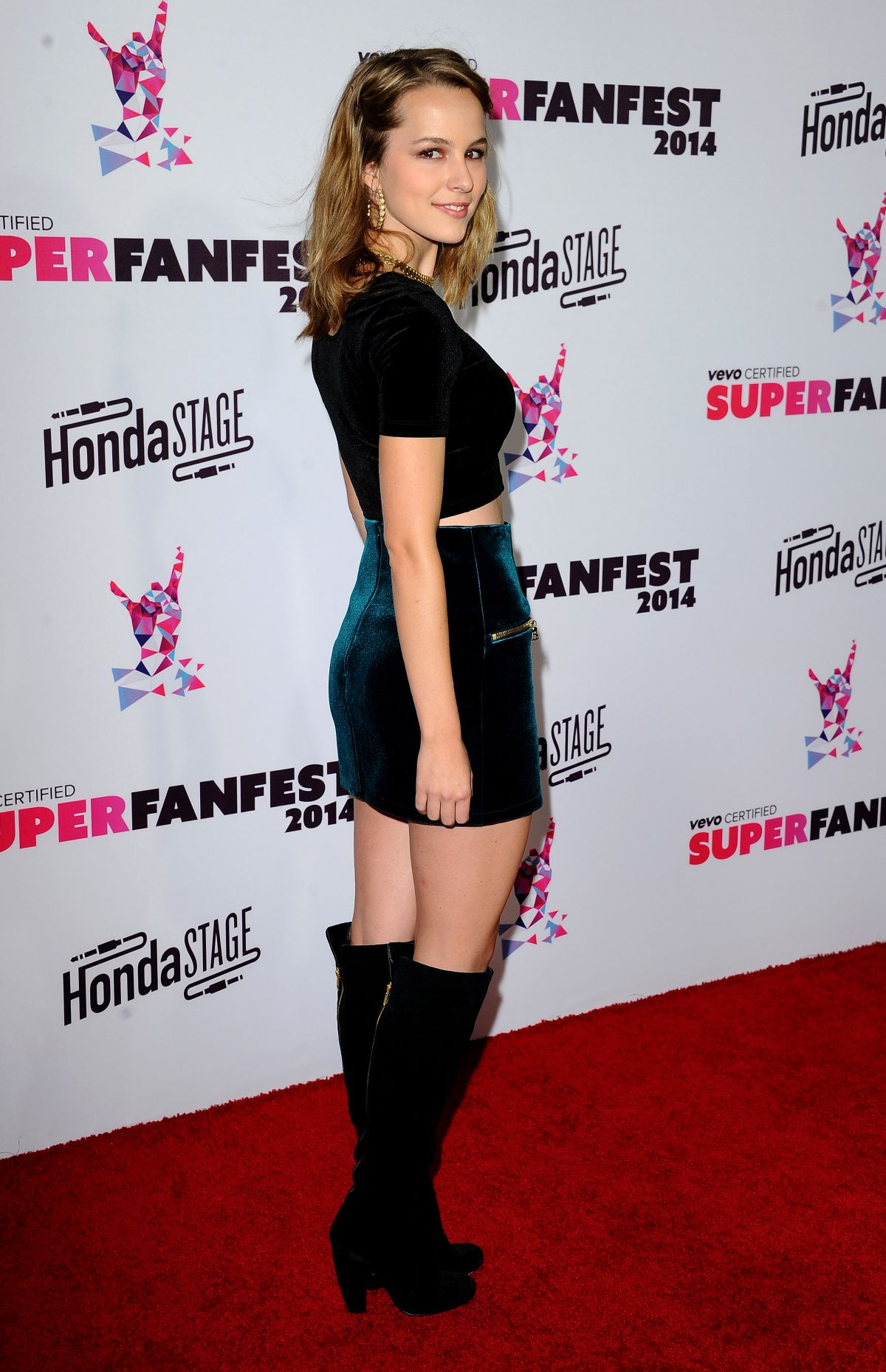 Bridgit Mendler At Vevo Certified Superfanfest