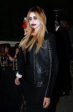 Brittny Gastineau Leaving The Casamigos Tequila Halloween Party