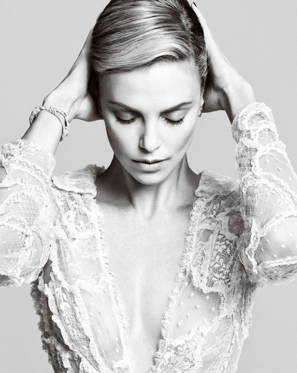 Charlize Theron In Harper's Bazaar China October 2014