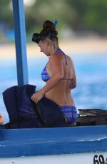 Coleen Rooney In Bikini On Barbados 22nd Oct